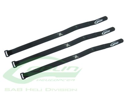 Picture of SAB HA023-S Battery Velcro Strap 430mm L 20mmW (3pcs) Goblin 500