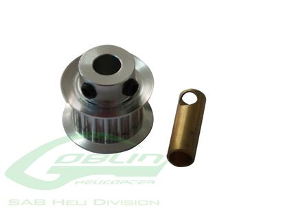 Picture of SAB H0215-24-S Aluminum Motor Pulley Z24 Goblin 500