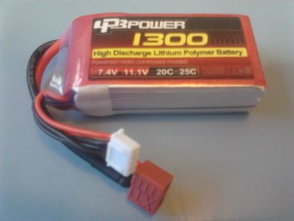 Picture of LPB Power 3S 11.1v 1300mAh 20C (XT60 Plug)