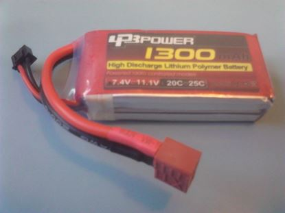 Picture of LPB Power 2S 7.4v 1300mAh 20C XT60 Plug