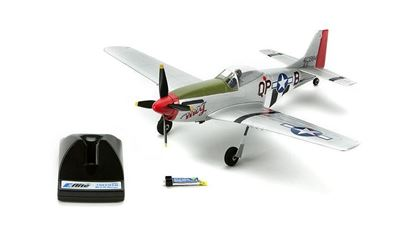 Picture of ParkZone PKZU2480 Ultra Micro P-51D Mustang BNF with AS3X