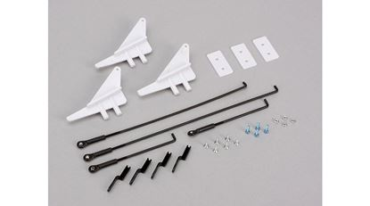 Picture of E-Flite EFL1025012 Control Horn & Linkage Set: Carbon-Z Splendor