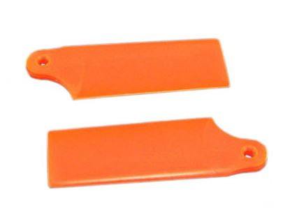 Picture of KBDD 5254 Extreme Edition 130X Tail Blades - Neon Orange