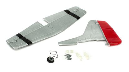 Picture of ParkZone PKZU2425 Complete Tail w/Accessories: UM P-51D Mustang