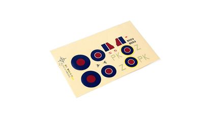 Picture of ParkZone PKZU2102 Decal Sheet: Ultra-Micro Spitfire Mk IX