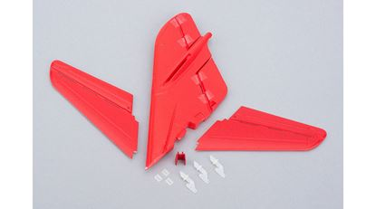 Picture of E-flite EFLU1660 Tail Set w/ Accessories: UMX MiG 15 BNF