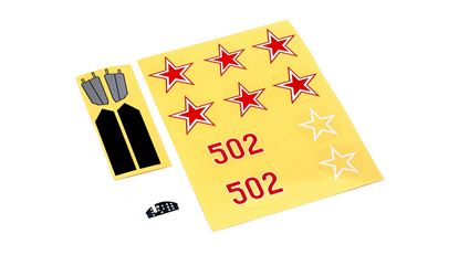Picture of E-flite EFLU1665 Decal Sheet: UMX MiG 15 BNF