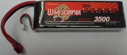 Picture of Wild Scorpion 2S 7.4V 3500mAh 30C