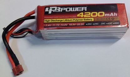 Picture of LPB Power 2S 7.4v 4200mAh 35C XT60