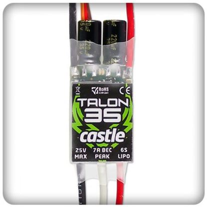Picture of Castle Creations 010-0122-00 Talon 35 with BEC 25V 35 amp ESC