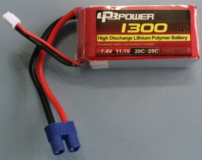 Picture of LPB Power 3S 11.1v 1300mAh 45C (XT60 Plug)