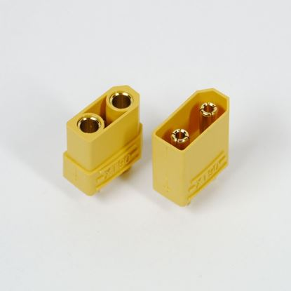 Picture of XT90 Connectors Male/Female 1x Pair