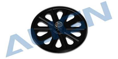 Picture of H50019AA 145T M0.6 Autorotation Tail Drive Gear set (Black)