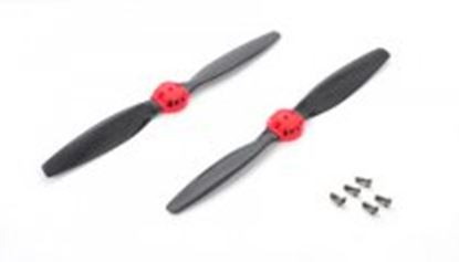 Picture of Xtreme 350QX02-R Carbon Blade (1 x normal/reverse) Red (350QX)