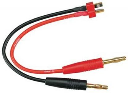 Picture of TPD49 Deans plug charge lead
