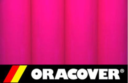 Picture of ORACOVER 2125-2 IRONON FLUOR PINK 2M