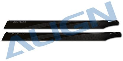 Picture of HD420H 425mm Carbon Fiber Blades-Black