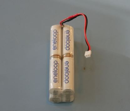 Picture of Eneloop ENE96-CE-S 2000mAh 9.6v DX7/JR TX square Battery