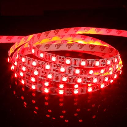 Picture of 12V LED Super Bright Strip Light (Red 1m)