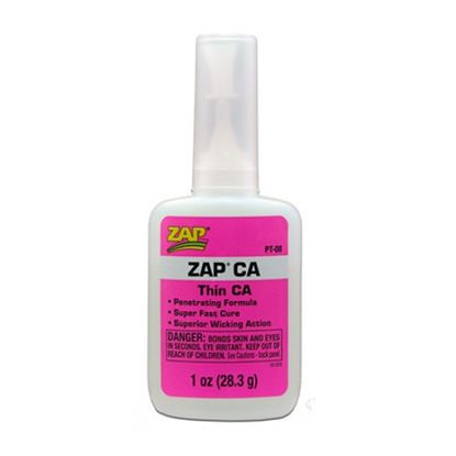 Picture of ZAP PT10 CA Glue - ZAP CA 0.25oz 7g Thin Viscosity