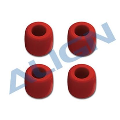 Picture of H80F002XRT 800E Aerial Photography Landing Gear Assembly - Red