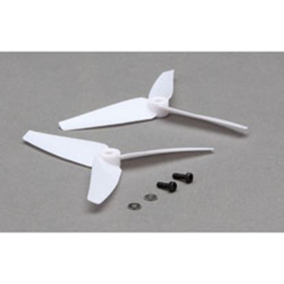Picture of Blade BLH2021 Tail Rotor Blade Set (White) 200 SR X