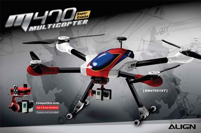 Picture of Align RM47001X M470 700mm Multicopter Super Combo