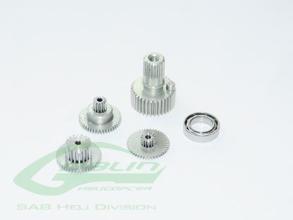 Picture of BK Servo DS-5001HV and DS-7005HV Servo Gear x 1 set
