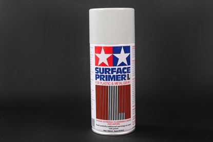 Picture of Tamiya 87042 Surface L Gray Primer/Plastic Metal - (180ml Can)