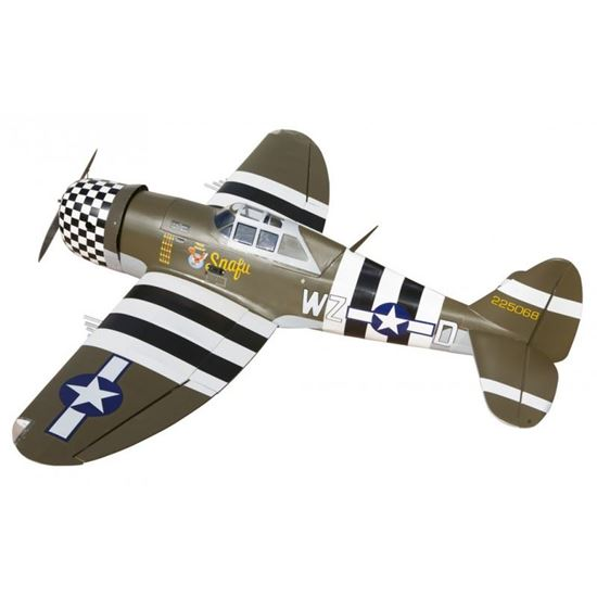 Picture of Seagull SEA207 P-47G Thunderbolt Snafu 60 ARF (15cc Gas Eng)