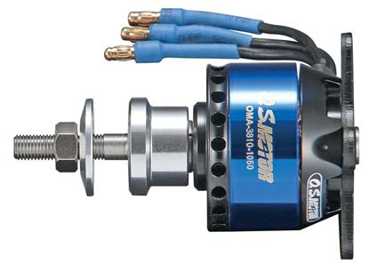 Picture of O.S. OSMG9510 .10 Brushless Outrunner Motor 3810-1050