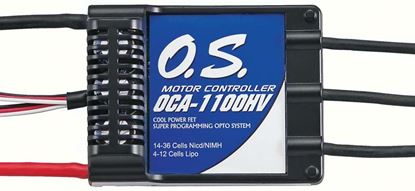Picture of O.S. OCA1100HV 100Amp 50V ESC