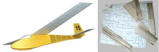Picture of West Wings WW15 Swallow Semi-Scale Glider (Kit)