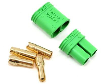 Picture of Castle 011-0065-00 4.0mm Polarized Connectors - Male/Female Sing