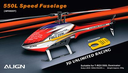 Picture of HF5505 550L Speed Fuselage – Red