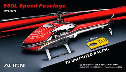 Picture of HF5503 550L Speed Fuselage – Red & White