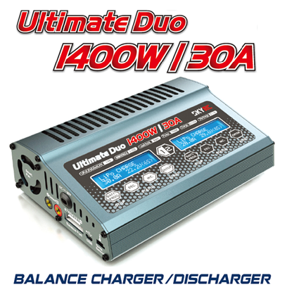 Picture of SkyRC SK-100087-02 Ultimate Duo 1400W 30A Lipo Charger