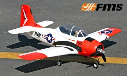 Picture of FMS Model 800MM T-28 V2 RTF RED