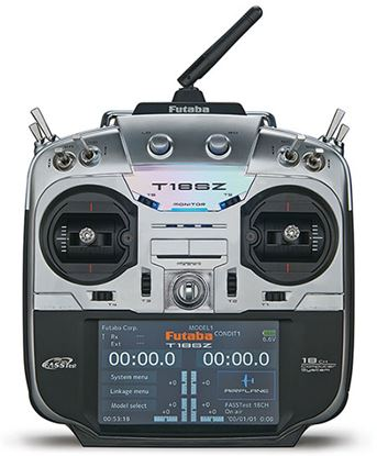 Picture of Futaba 18SZ FASSTest, FASST, T-FHSS, S-FHSS Radio (mode 1 or 2)