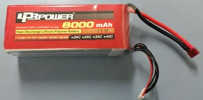 Picture of LPB Power 6S 22.2v 8000mAh 25C