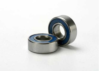 Picture of Traxxas 5116 Ball bearings, blue rubber sealed (5x11x4mm)