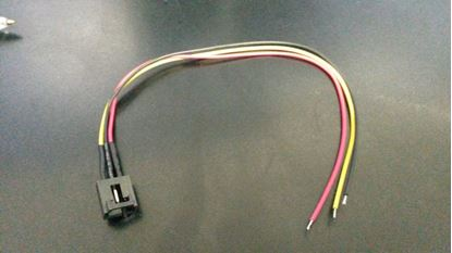 Picture of Molex 015000089 3 Pin Cable Female Connector with 220mm x 26AWG
