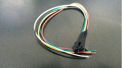 Picture of Molex 015000090 5 Pin Cable Female Connector with 230mm x 26AWG