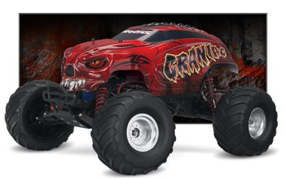 Picture of Traxxas 36094-1 Craniac 1/10 Scale Monster Truck. RTR RED