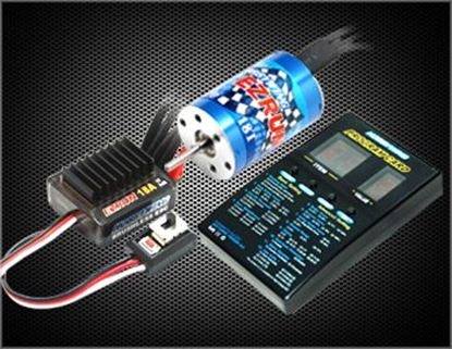 Picture of Hobbywing 81030000 EZRUN Brushless System Combo-A1 for 1/18 Car
