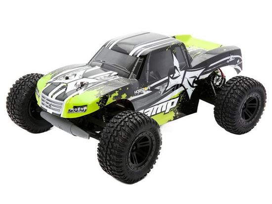 Picture of ECX ECX030281T2 AMP 1/10 2WD RTR Monster Truck: Black/Green