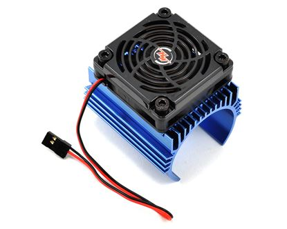 Picture of Hobbywing 86080120 C1 Motor Heatsink & Fan Combo