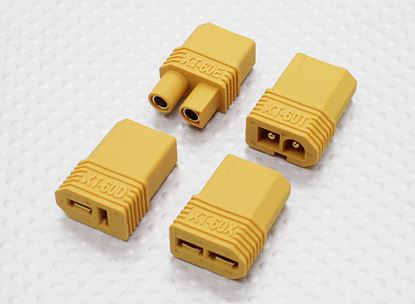 Picture of Nylon 258000081 XT60 Multi-Plug Adapter Set (T-Connector/EC3/ Co