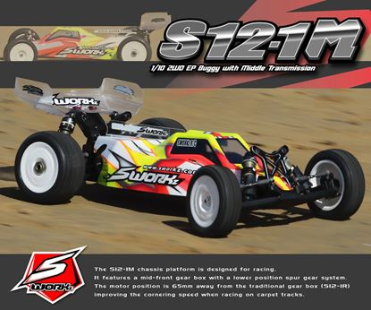 Picture of SWORKz S12-1M Carpet Editions 1/10 2WD EP Off Road Racing Buggy