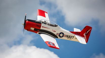 Picture of E-Flite EFL8350 T-28 Trojan 1.2m BNF Basic